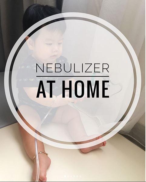 OMRON JET Nebulizer C-28, Terapi Nebulizer Di Rumah