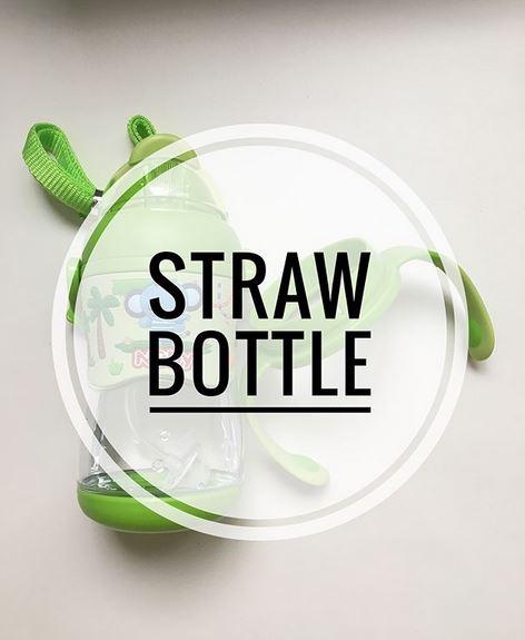 Straw Bottle/Straw Cup – Nuby Tritan 360