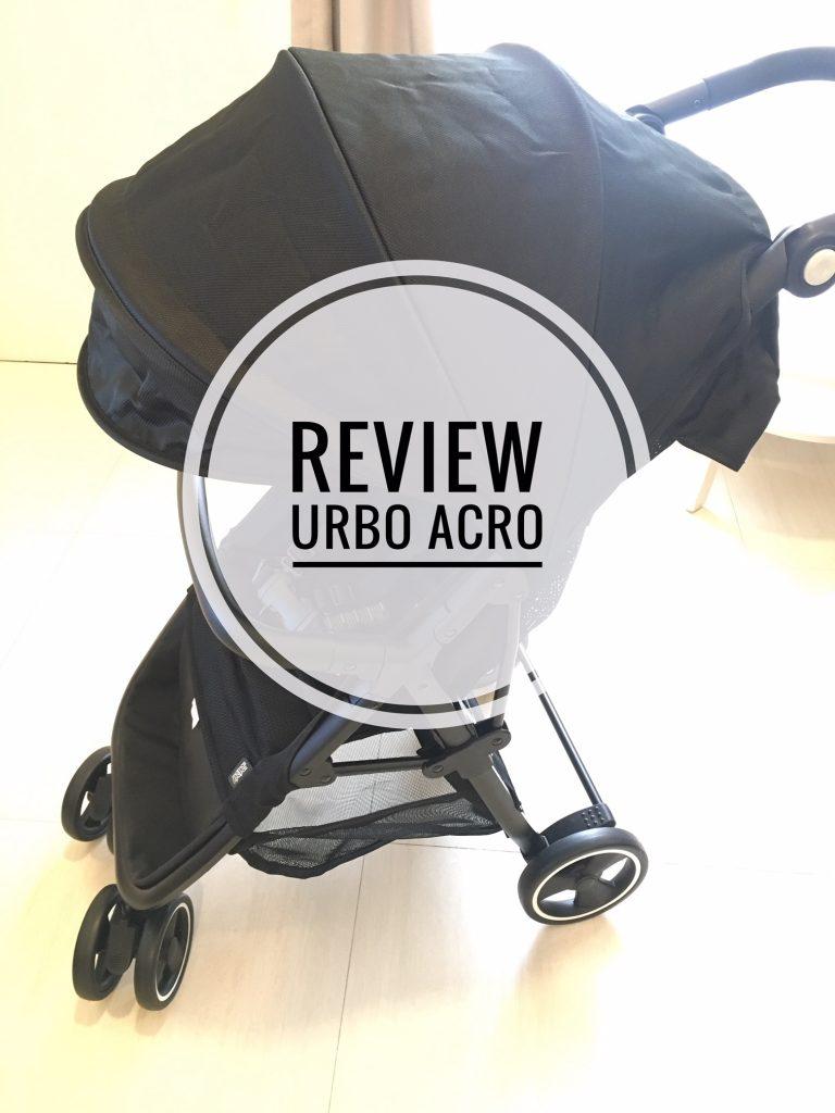 Review Cabin Size Stroller : Mamas Papas Urbo Acro