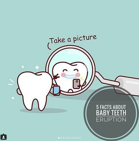 5 Facts About Baby Tooth Eruption (that you might not know)