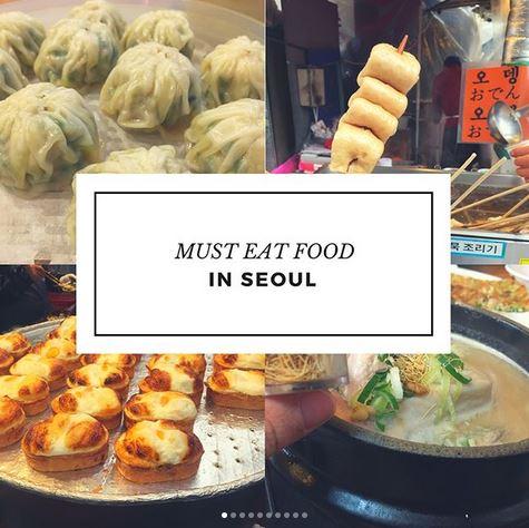 Must Eat Food In Seoul