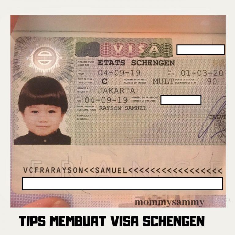 Tips Membuat Visa Schengen