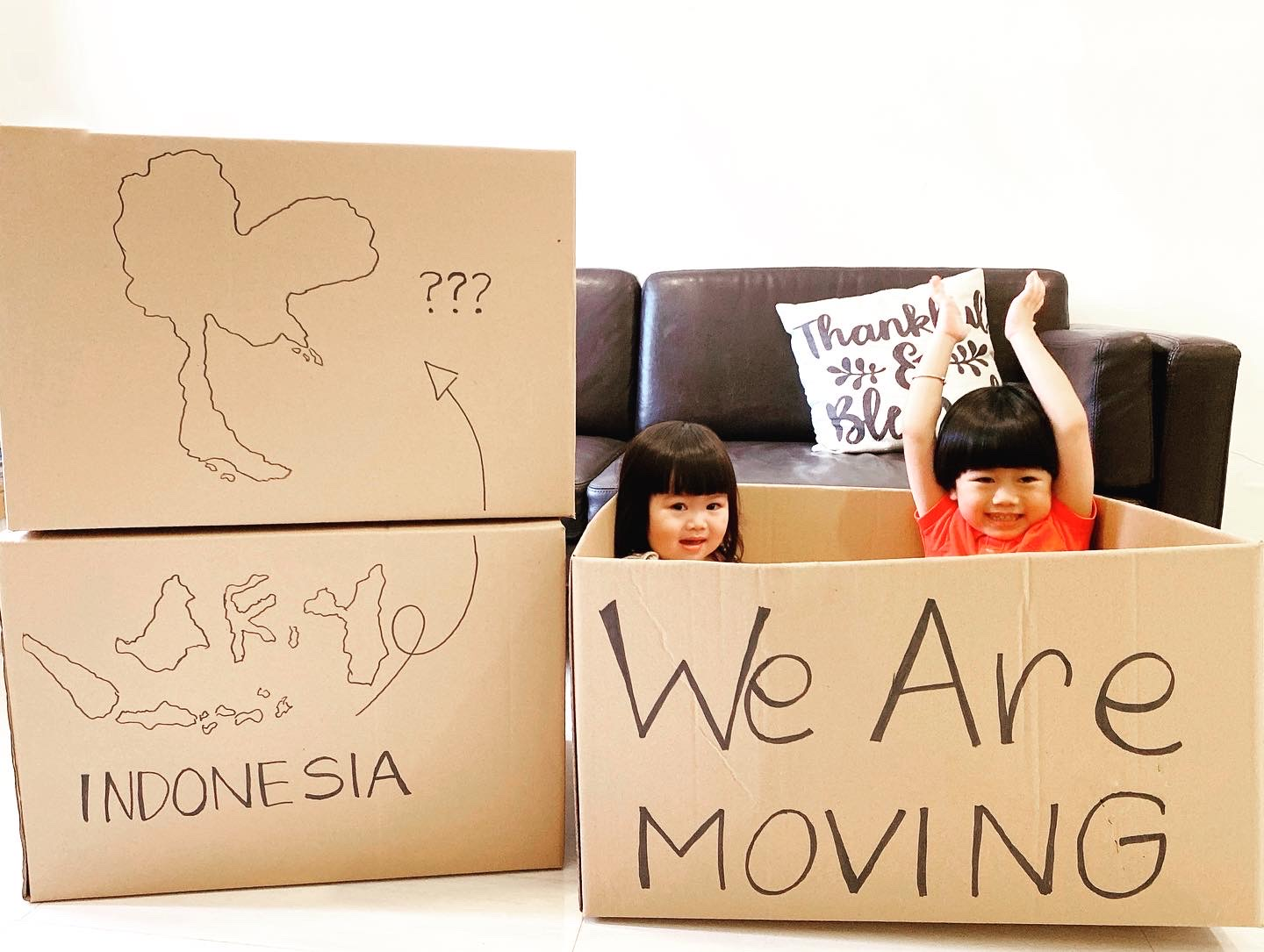 Lifetime Decision: WE ARE MOVING FROM INDONESIA