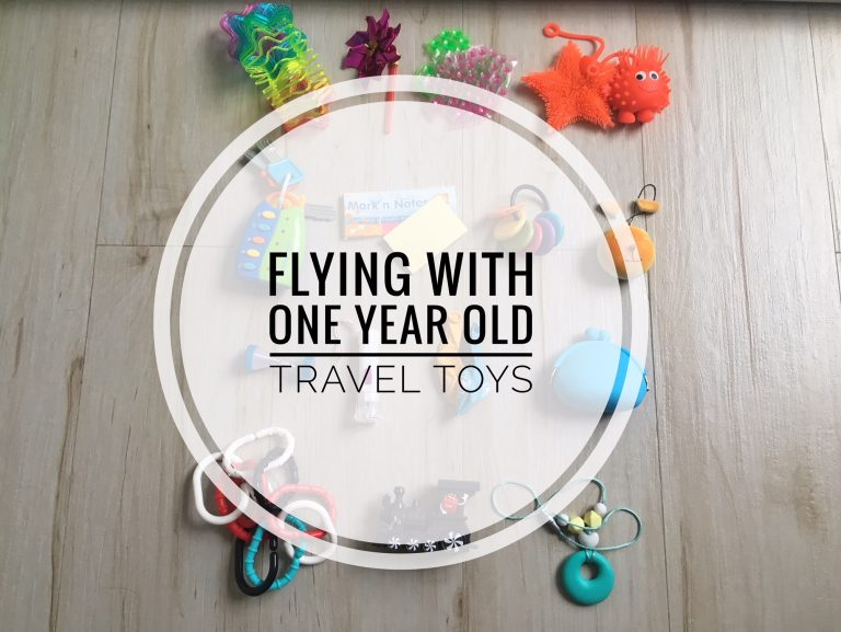 Flying with one year old (travel toys)