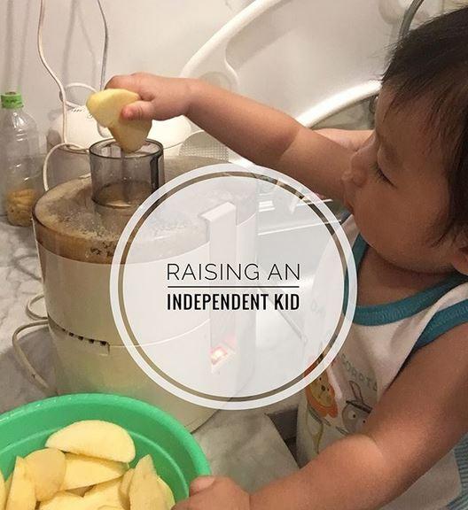 Raising An Independent Kid (Mencetak Anak yang Independen)