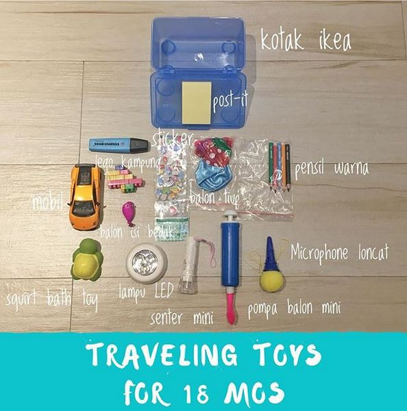 Traveling Toys For 18 Months Old