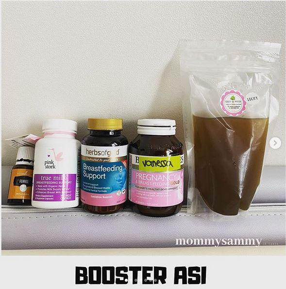 Vitamin/Booster ASI (versi anak kedua)